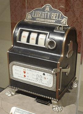 liberty bell spilleautomat gamle spilleautomater