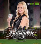 live dealer blackjack på nett