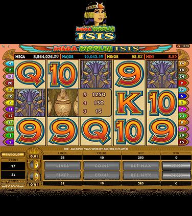 mega moolah isis spilleautomat på nett spilleautomater på nett med jackpot