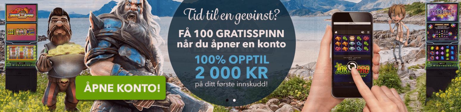 test av norskeautomater casino