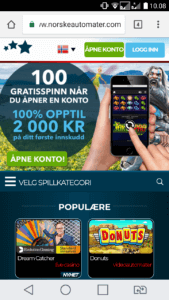 norskeautomater mobilcasino