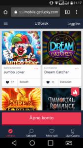 test av get lucky casino mobil casino med mobilbetaling siru på casino gratisbonus