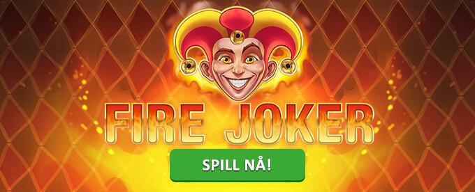 fire joker gratisspinn uten innskudd