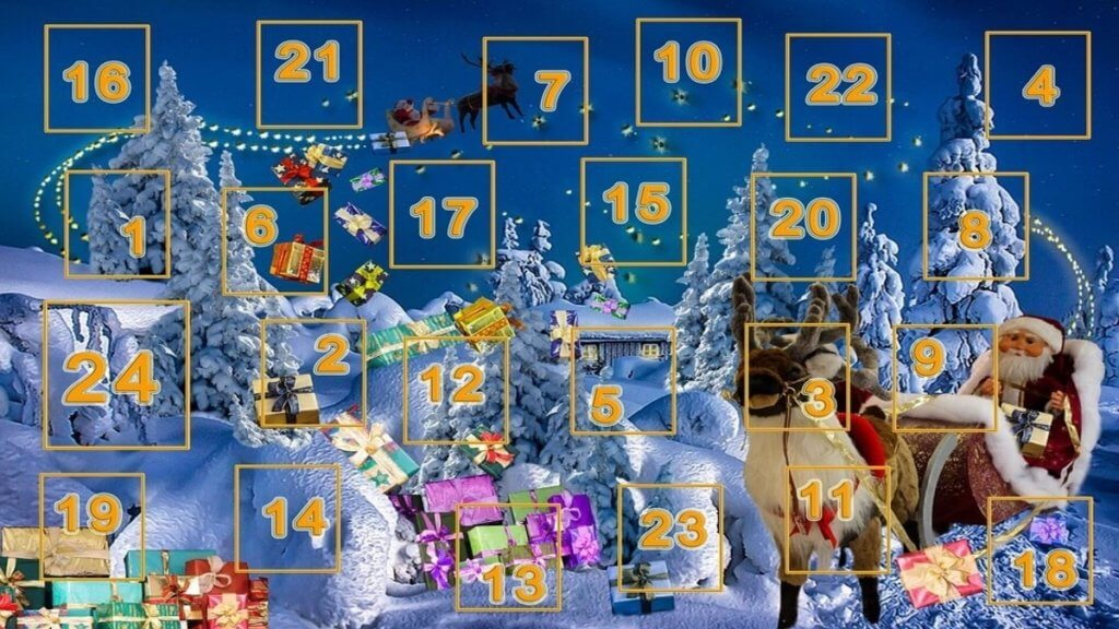 Gratis casino julekalender 2018