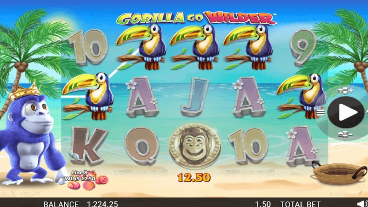 Gorilla Go Wilder spilleautomat