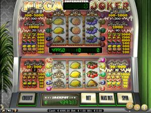 mega joker spilleautomater med høy tilbakebetaling