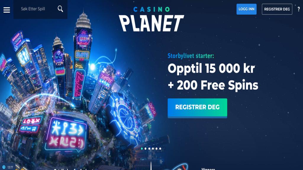 CasinoPlanet nettcasino anmeldelse vurdering