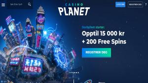 CasinoPlanet nettcasino anmeldelse